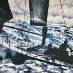 """Eugenio Giaccone - Quadro dal titolo """"Lamer"""" Dimensioni cm. 70x100"""