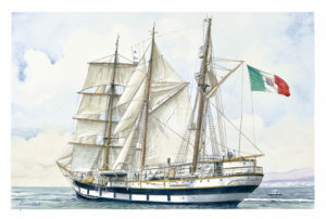 Ship portraits - Ritratto della nave Palinuro