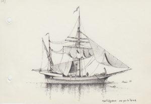 disegni di barche - disegno di martigana napoletana