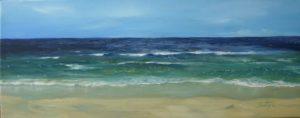 Dipinti di mare - quadro intitolato Marina - autore Nicola Sciotto