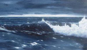 Dipinti di mare - quadro intitolato Promessa di luce - autore Nicola Sciotto