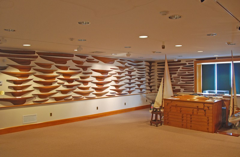 model room nel museo Herreshoff
