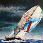 """Eugenio Giaccone - Quadro dal titolo """"Airis"""" Dimensioni cm. 70x70"""