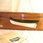 mezzi scafi - mezzo modello di cutter inglese
