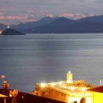 Fotografia artistica - panorama serale canale di piombino