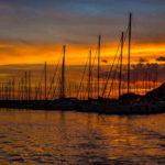 Fotografia artistica - Marina di Salivoli al tramonto