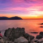 Fotografia artistica - Pescatore nel golfo di Baratti