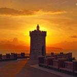 """Fotografia artistica -Foto """"Piazza Bovio al tramonto"""""""
