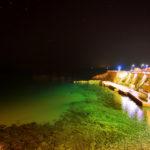 Fotografia artistica -Piazza Bovio di notte