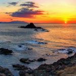 Fotografia artistica -Punta Falcone tramonto-foto