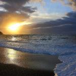 Fotografia artistica -Spiaggia dello Stellino al tramonto-foto