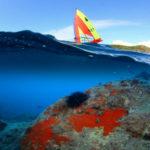 Fotografia artistica - Foto di surf scattata a mezz'acqua