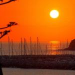 Fotografia artistica -Marina di Salivoli tramonto-foto