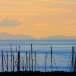 Fotografia artistica - Marina di Salivoli con isola d'Elba-foto