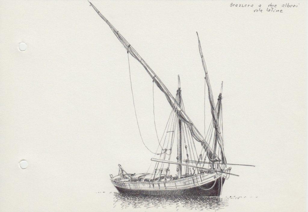 marineria - disegno di brazzera