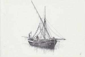 disegni di barche - disegno di schifazzo siciliano