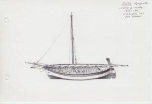 disegni di barche - disegno di sardara