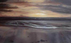 Dipinti di mare - quadro intitolato Alchimia primaverile - autore Nicola Sciotto