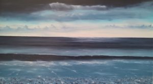 dipinti di mare - dipinto denominato quiete - Nicola Sciotto