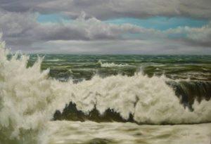 Dipinti di mare - quadro intitolato Sogni tempestosi - autore Nicola Sciotto