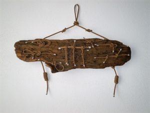 legni di mare - quadro F14 - autore Sandro Vischia