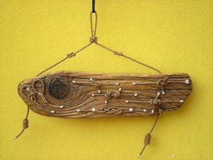 legni di mare - quadro F2 - autore Sandro Vischia