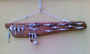 legni di mare - quadro F22 - autore Sandro Vischia