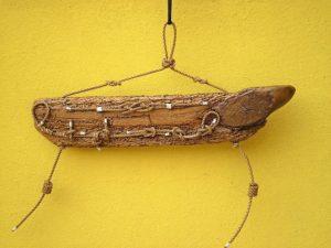legni di mare - quadro F3 - autore Sandro Vischia