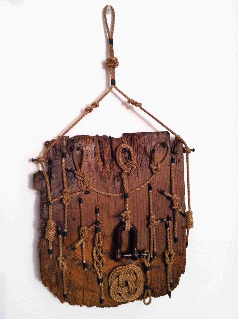 legni di mare - quadro F33 - autore Sandro Vischia