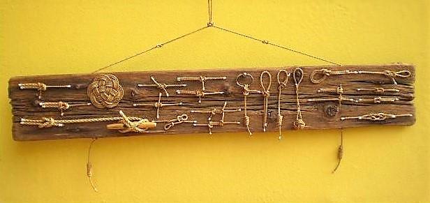legni di mare - quadro F6 - autore Sandro Vischia
