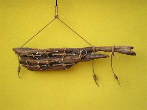 legni di mare - quadro F7 - autore Sandro Vischia