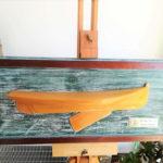 Mezzo scafo del cat boat COOT - Modelli & mezzi scafi - mercatino
