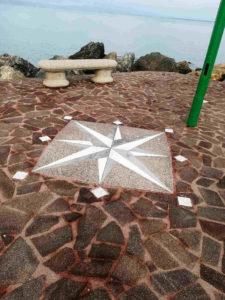 Moletto a Porto Santo Stefano - rose dei venti