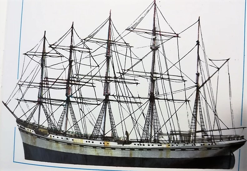 Nave France II - disegno