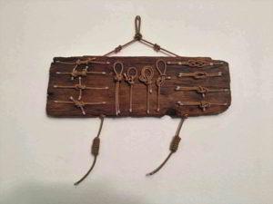 legno da spiaggia con nodi marinari N 915 - mercatino