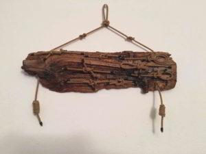 legno da spiaggia con nodi marinari N 1243 - mercatino