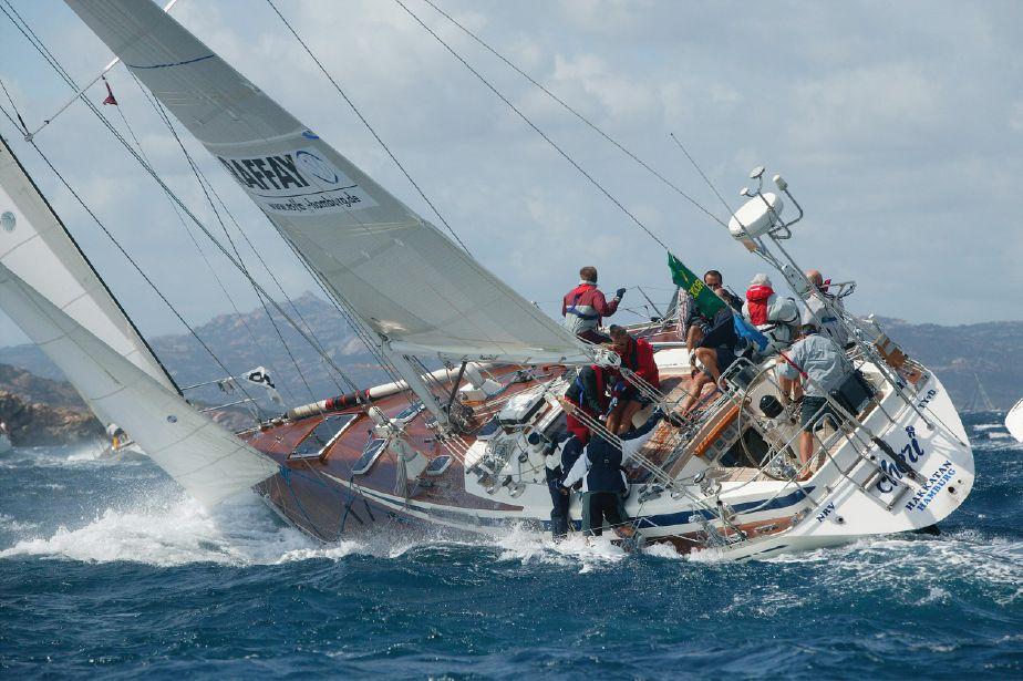 foto dello SWAN 51 in navigazione