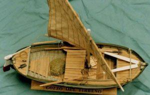Modello di gozzo del Tirreno - modelli navali