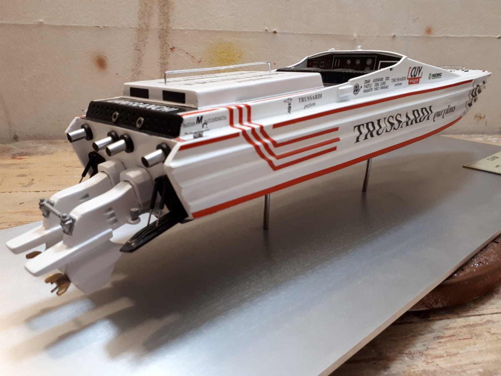 motoscafo CUV 38 - modelli navali