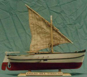 modello gozzo del Tirreno - modelli navali