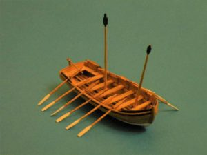 modello di scialuppa - modelli navali
