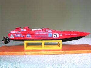modello di motoscafo offshore CUV 38 - modelli navali