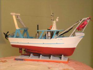 modello di peschereccio - modelli navali