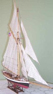 modello del Puritan - modelli navali