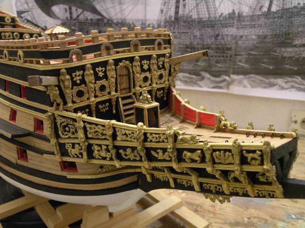 Modello Sovrana dei mari - modelli navali