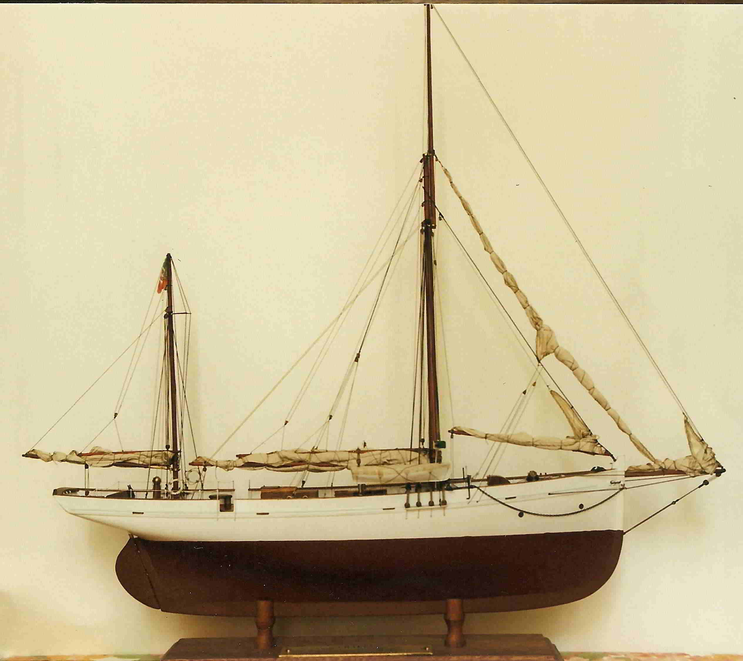 yacht Grappa - modelli navali