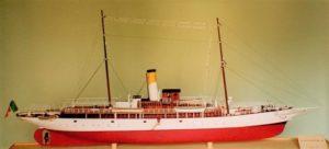 modello nave Elettra - modelli navali