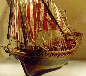 modello di sciabecco - modelli navali