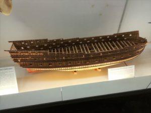 Modello di vascello in costruzione - modelli navali