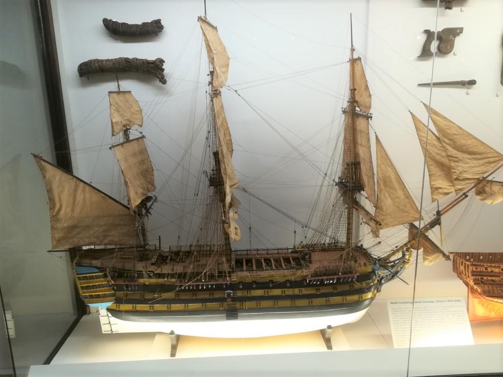 Modello di vascello del XVIII secolo - modelli navali